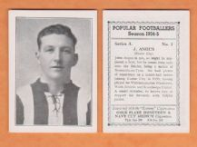 Exeter City John Angus 7